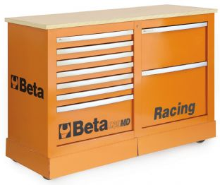 Beta C39MD O Special Mobile Roller Cab, Racing MD Type (Orange)